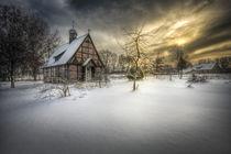winterzeit III von Manfred Hartmann
