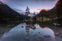 Hintersee am Morgen by Florian Westermann