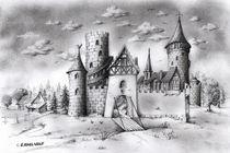 die Burg von E. Axel  Wolf