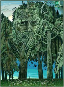 Der Waldgeist  by Konstantin Beider
