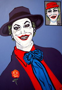 THE JOKER AND MOM by Nora Shepley