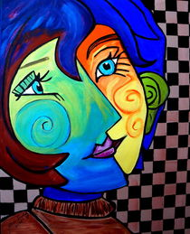 TWO FACES by Nora Shepley