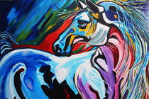 MR GORGEOUS HORSE by Nora Shepley