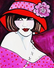 1920'S FLAPPER GIRL ROSE von Nora Shepley