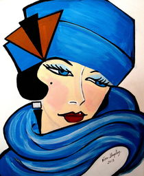 1920'S FLAPPER GIRL     CATHY by Nora Shepley