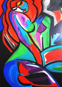ABSTRACT WOMAN by Nora Shepley