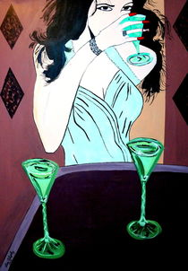 THE WOMAN IN GREEN von Nora Shepley