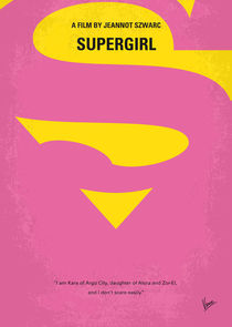 No720-my-supergirl-minimal-movie-poster