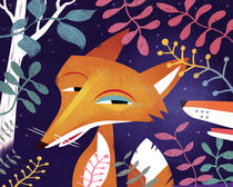 Foxes by Benjamin Bay