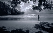 Pangandaran in B/W by Keld Bach