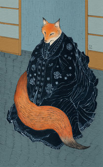Fox-wedding-artprint-artflakes