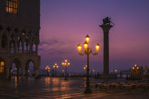Morninglight at Piazza San Marco by Frank Stettler