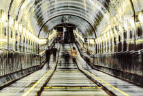 OLD ELBE TUNNEL I.III by ursfoto