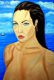 ANGELINA JOLIE by Nora Shepley