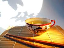 Zeit für Entspannung, japanische Teetasse, Teatime by Dagmar Laimgruber