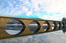 Brücke im Winter von Bernhard Kaiser