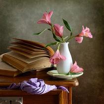 Pinke Blumen by Nikolay Panov