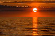 Ein Sonnenuntergang an der Küste der Ostsee by Rico Ködder