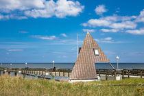 Die Seebrücke in Koserow auf der Insel Usedom von Rico Ködder