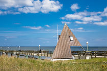 Die Seebrücke in Koserow auf der Insel Usedom by Rico Ködder