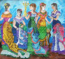 ladies that lunch by Paula Bettam