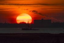 Sonnenuntergang an der Holländischen Küste by ropo13