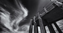 Wooden Jetty and the London Summer Sky by John Williams