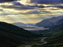 Looking West - Loch Maree by Dave Harnetty