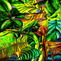 Tropical Plants by Blake Robson