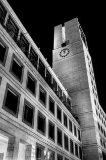 Stuttgart bei Nacht - Stuttgarter Rathaus #1 by Colin Utz