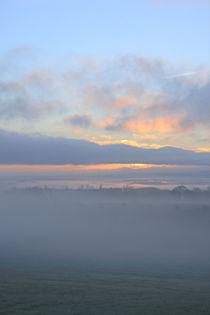 Nebel und Wolkenhimmel von Bernhard Kaiser