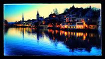 Zürich am Abend by marohm