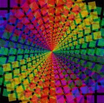 Colorful mosaic pattern von Shawlin Mohd