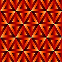 Optical illusion with triangles by Shawlin Mohd