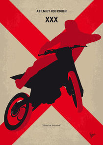 No728 My xXx minimal movie poster von chungkong