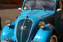 Fiat 500 Luxus im strahlendem Blau von Simone Marsig