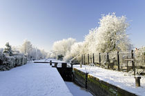 The Frozen Dallow Lane Lock by Rod Johnson