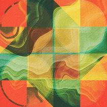 Abstract artwork by Gaspar Avila