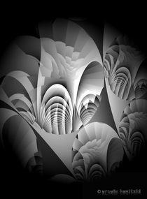 schwarz-weiße Grafik von Ursula Marie Konitzki