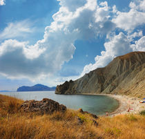 Tikhaya Cove of the Bay of Koktebel, Crimea von Yuri Hope