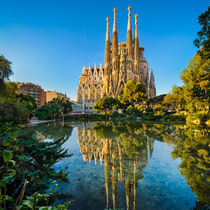 Sagrada Familia in Barcelona by Michael Abid