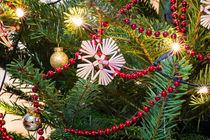 Weihnachtsstern und rote Kette by mnfotografie