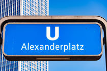 U-Bahn Alexanderplatz by mnfotografie