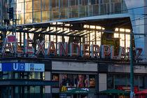 Bahnhof Alexanderplatz Berlin von mnfotografie