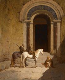 """La halte des cavaliers arabes"" by Paul Delamain von Maria Hjerppe"