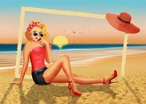 Urlaubsgrüße aus den 50er Jahren by Monika Juengling