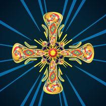 Jewelry cross by Gaspar Avila