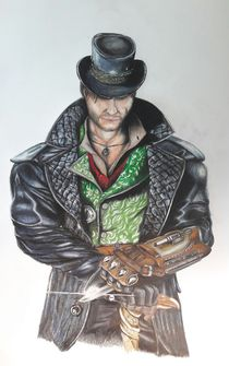 Assassin's Creed Syndicate - Jacob Frye__ #pencilpaint  von Jakob Hiltl