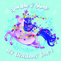 Christmas Unicorn by Nadine Konrad