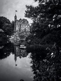 Belvedere Castle and The Turtle Pond by James Aiken
